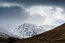 Meall Lighiche under snow by Mark Greenwood