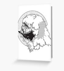 The Beast from The Ice Planet Greeting Card