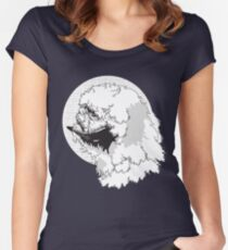 The Beast from The Ice Planet Women's Fitted Scoop T-Shirt