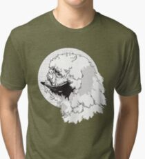 The Beast from The Ice Planet Tri-blend T-Shirt