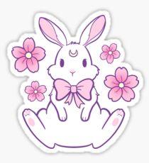 Sakura Bunny 02 Sticker