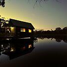 Bush Retreat At Dusk. Tenterfield, NSW, Australia by Ralph de Zilva
