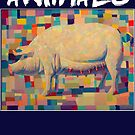 animals - pig 2 by rubanovart