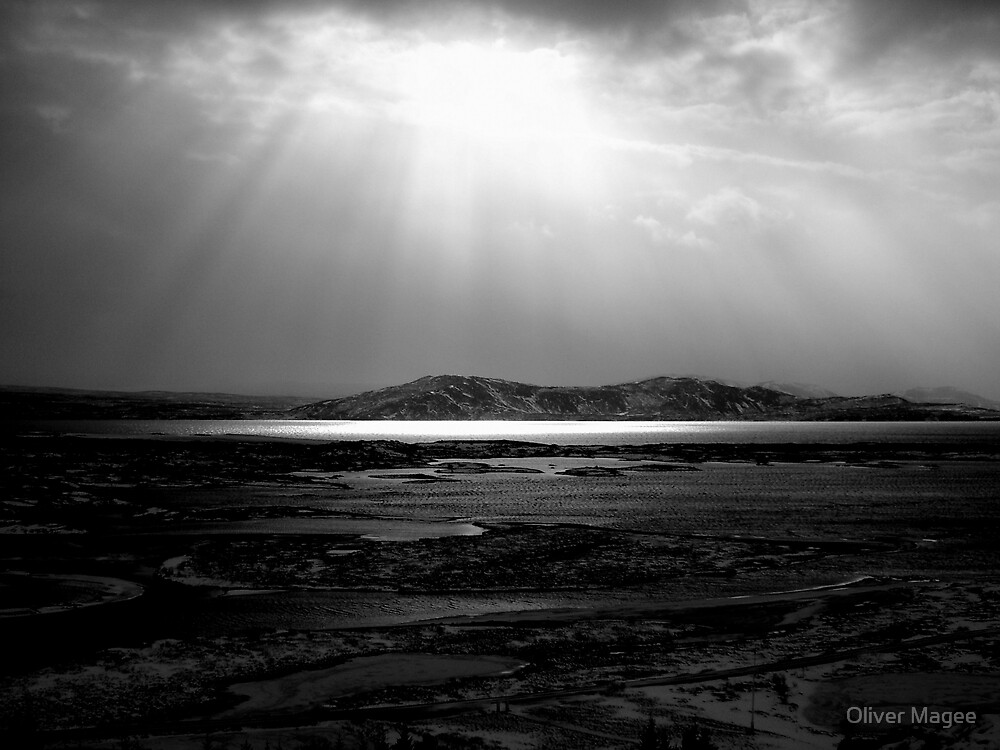 iceland landscape by Oliver Magee
