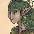 Hedge-Mother (Card) by NadiaTurner