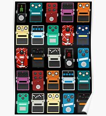 Pedal Board Poster