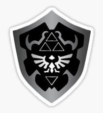 Dark Hylian Shield 2 Sticker