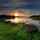 Mabou Sunset by EvaMcDermott