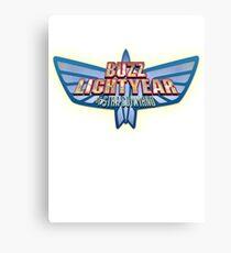 Buzz Lightyear Space Star Command Canvas Print