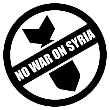 No War On Syria by goldpunkin