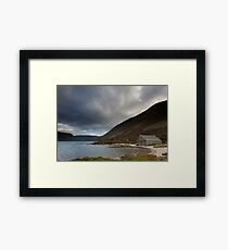 boathouse, loch muick Framed Print