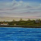 Scattery Island - oil painting  by Avril Brand
