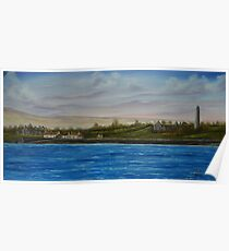 Scattery Island - oil painting  Poster