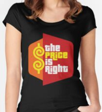 The Price is Right Women's Fitted Scoop T-Shirt
