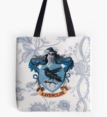 Ravenclaw Floral Tote Bag