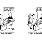 Quiz Hosts' Convention Hotel Check-In by Nigel Sutherland