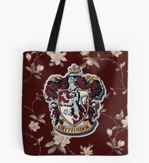 Gryffindor Floral Tote Bag