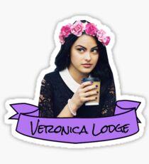 veronica lodge flower crown sticker Sticker