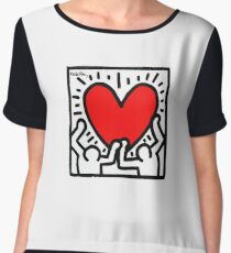 KEITH HARINGS 1 Women's Chiffon Top