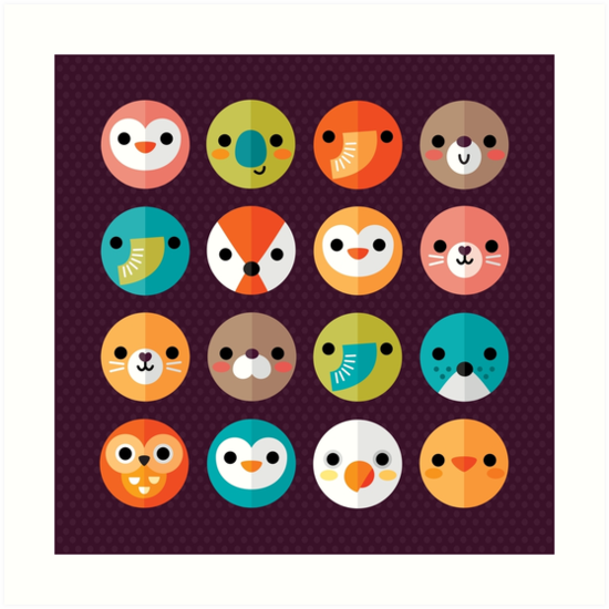 Smiley Faces by daisy-beatrice