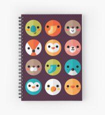 Smiley Faces Spiral Notebook