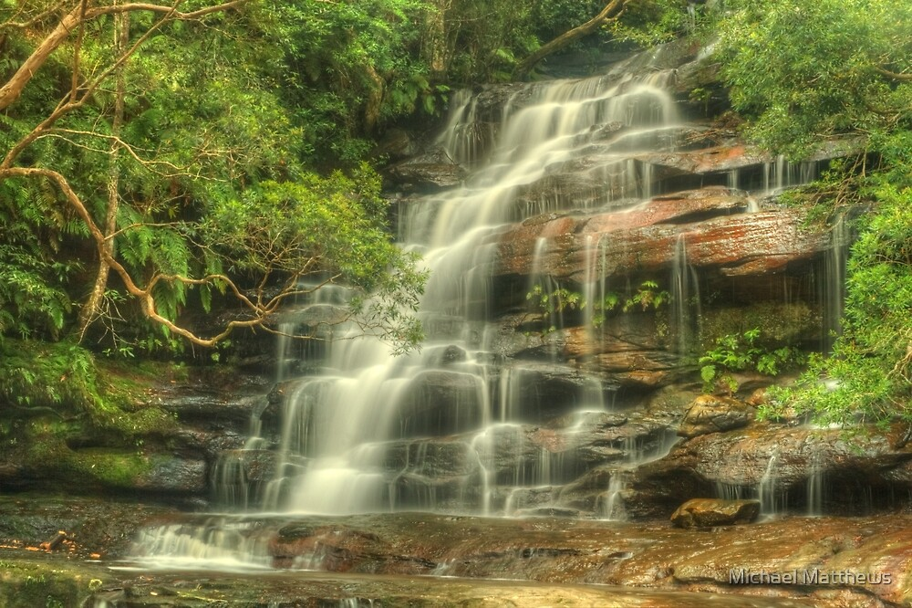 Upper Somersby Falls by Michael Matthews