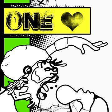 oO One LOVE Oo by 87joonbug