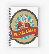 Pastafarian church Spiral Notebook
