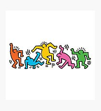 KEITH HARINGS 4 Photographic Print