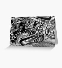 Belt Drive Shovelhead HD Greeting Card
