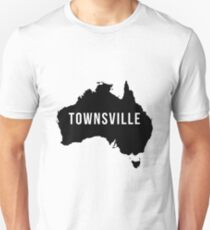 Townsville, Australia State Silhouette Unisex T-Shirt