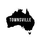 Townsville, Australia State Silhouette by CartoCreative