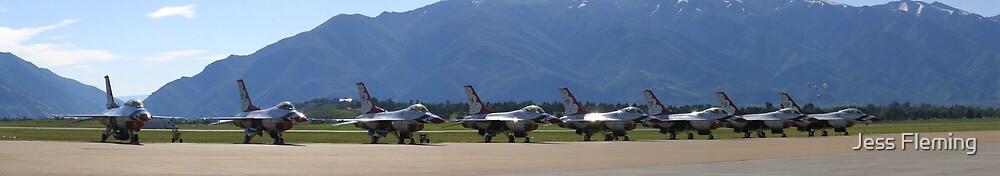 USAF Thunderbirds by Jess Fleming