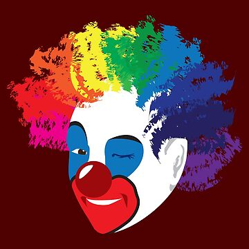 Class Clown: What Color is Your Clown by goodedesign