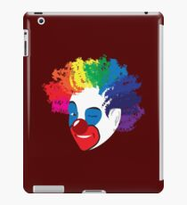 Class Clown: What Color is Your Clown iPad Case/Skin