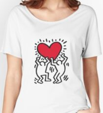 KEITH HARINGS 6 Women's Relaxed Fit T-Shirt