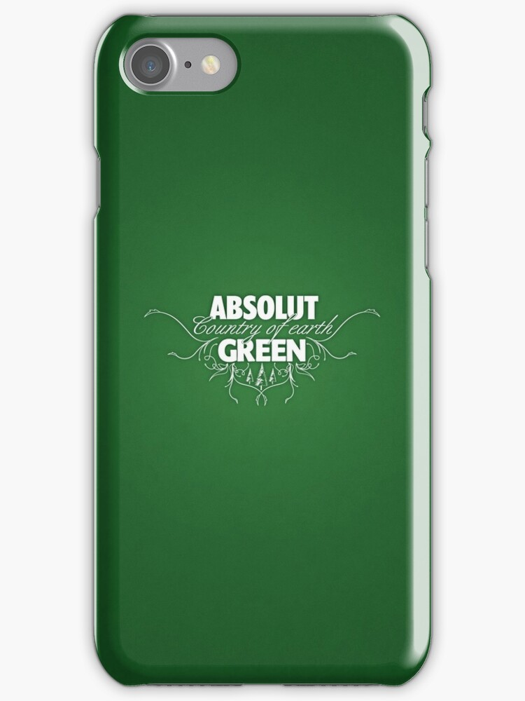 """ABSOLUT GREEN """"Country of earth"""" by yanmos"""