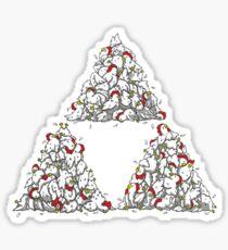 Cucco Triforce Sticker