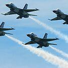 USAF Thunderbird Diamond by Paul Lenharr II