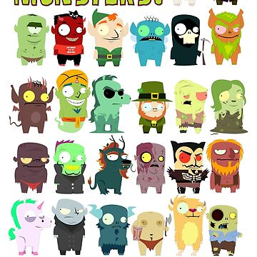 The ABC's Of Monster  by MrBradd