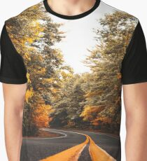on the road in vermont Graphic T-Shirt