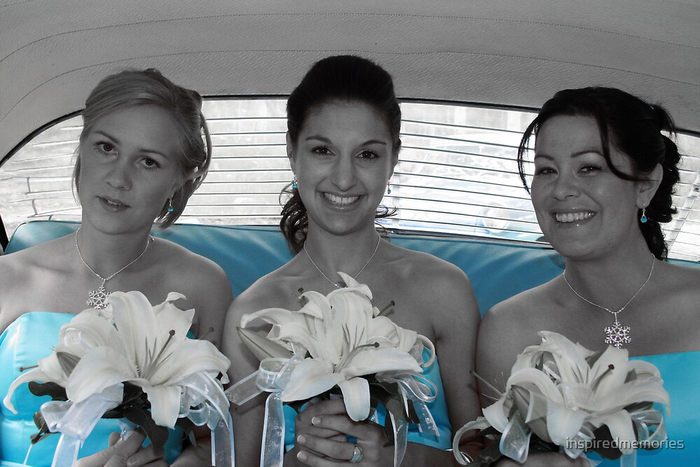 the bridesmaids by inspiredmemories