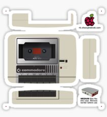 Commodore 1530 Datasette Skin for the Official case [Get the MEDIUM size] Sticker
