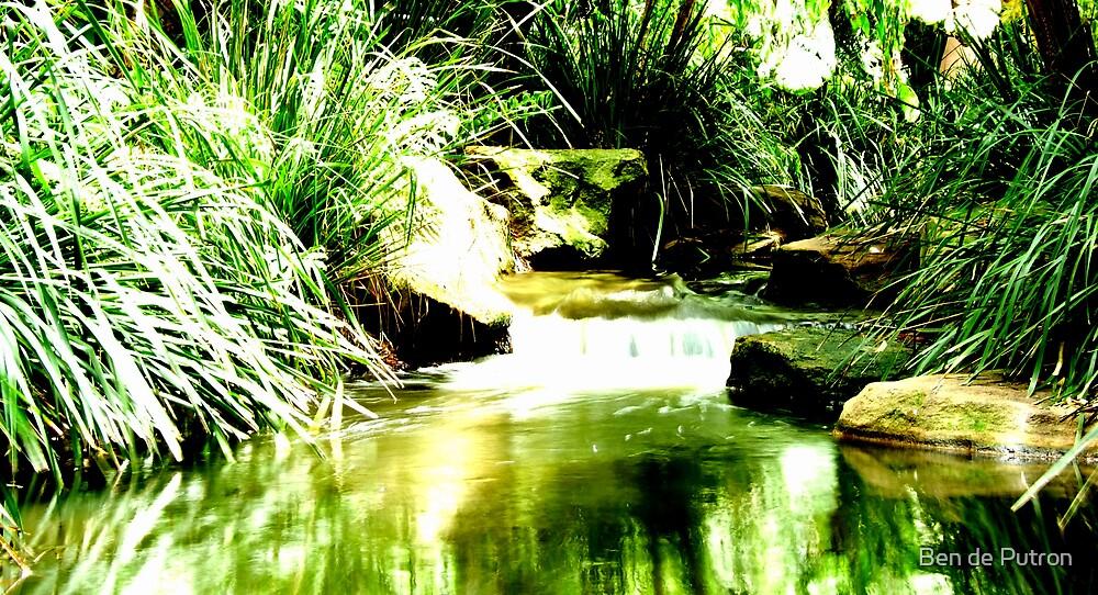 Green Stream by Ben de Putron