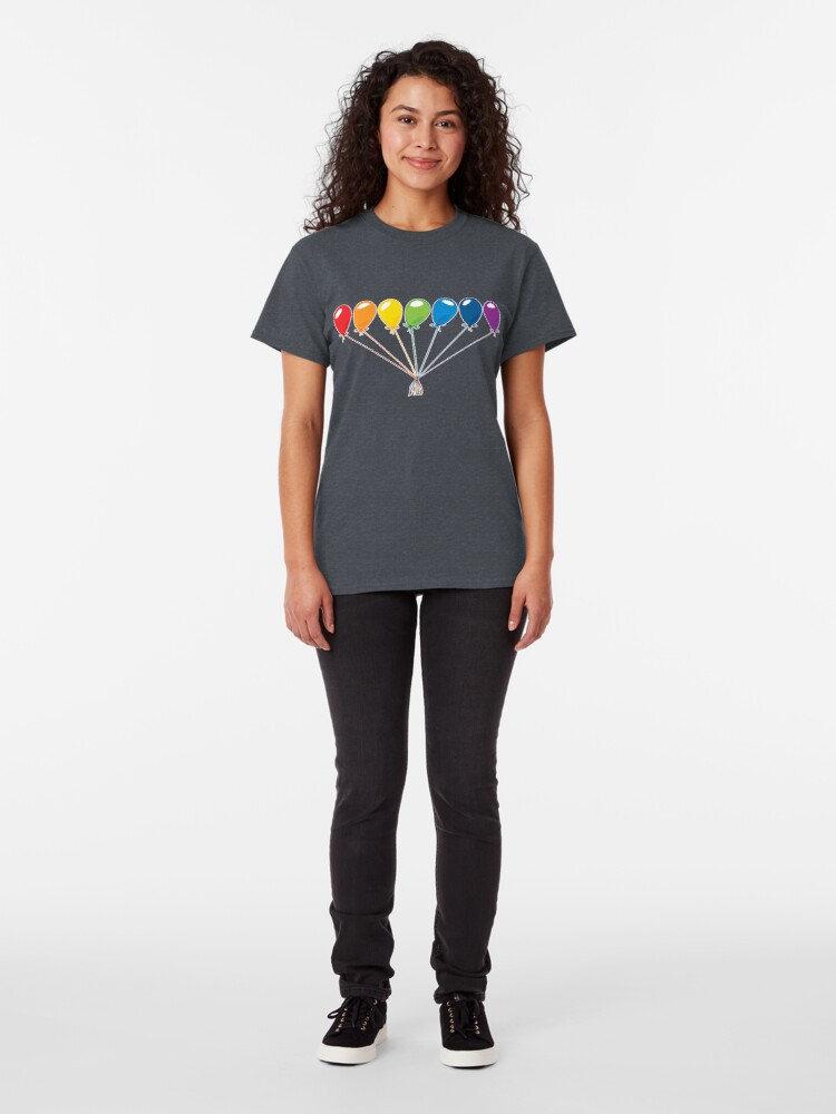 Alternate view of What color is your balloon?  Classic T-Shirt