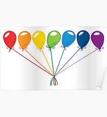 What color is your balloon?  Poster