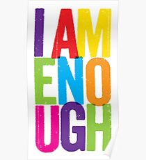 I Am Enough Poster