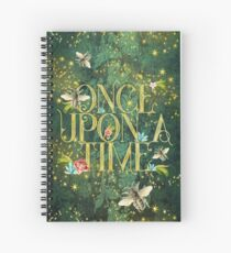 Bee Once Upon a Time Spiral Notebook