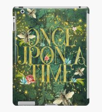 Bee Once Upon a Time iPad Case/Skin