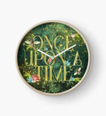 Bee Once Upon a Time Clock